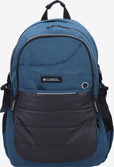 Gabol Rucksack 'Work' in blau / grau, Produktansicht