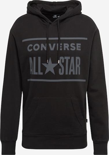 CONVERSE Sweatshirt in grau / schwarz, Produktansicht