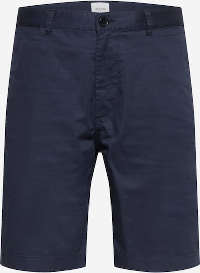 WOOD WOOD Chino trousers 'Jonathan' in marine: Frontal view