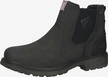 TOM TAILOR Chelsea Boots in Grau