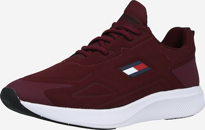 Tommy Sport Sportschuh in navy / rot / dunkelrot / weiß, Produktansicht