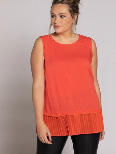 Ulla Popken Blouse in de kleur Sinaasappel, Modelweergave