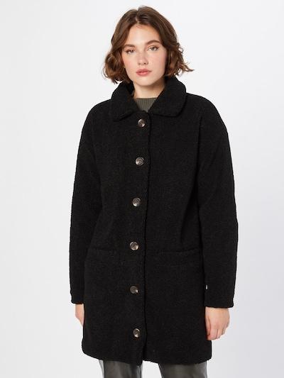 SISTERS POINT Mantel 'DOFI' in schwarz, Modelansicht
