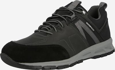 GEOX Sneaker 'DELRAY' in hellgrau / dunkelgrau / schwarz, Produktansicht