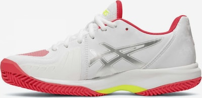ASICS Sportschuh ' Gel-Court Speed Clay ' in weiß: Frontalansicht