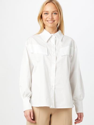 Palaidinė 'FIFI' iš Femme Luxe, spalva – balta, Modelio vaizdas