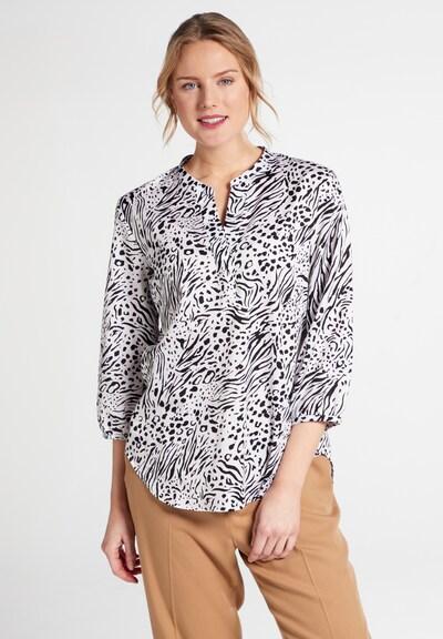 ETERNA Bluse 'MODERN CLASSIC' in schwarz / weiß, Modelansicht