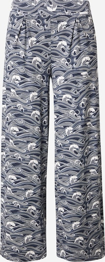 Pantaloni de pijama Skiny pe albastru închis, Vizualizare produs