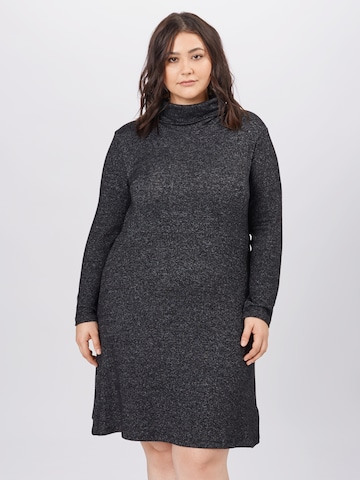 ABOUT YOU Curvy Gebreide jurk 'Emma' in Grijs