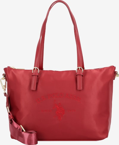U.S. POLO ASSN. Tasche 31cm in rot, Produktansicht