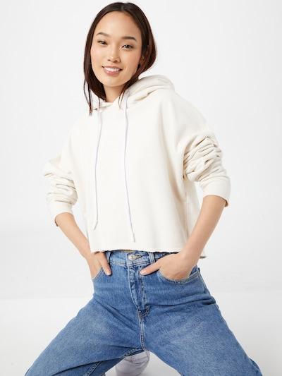 Bluză de molton 'Stella' Karo Kauer pe crem, Vizualizare model