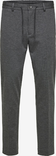 SELECTED HOMME Hose in grau / graphit, Produktansicht