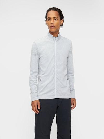 J.Lindeberg Sportjas in de kleur Grijs: Vooraanzicht