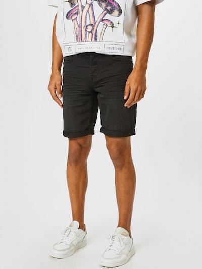 Only & Sons Jeansshorts in schwarz, Modelansicht