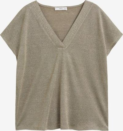 MANGO Pullover in gold / khaki, Produktansicht