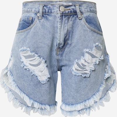 GLAMOROUS Shorts in blue denim, Produktansicht