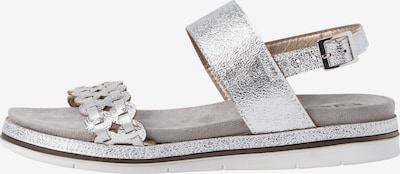 JANA Sandale in silber, Produktansicht