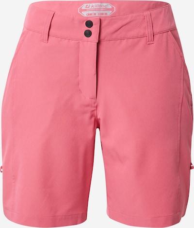 KILLTEC Pantalon outdoor 'Runja' en rose, Vue avec produit