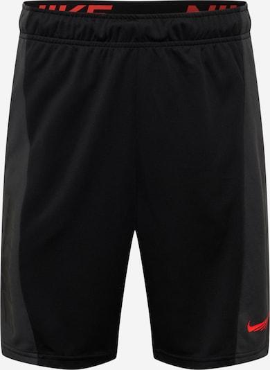 NIKE Sporta bikses antracīta / melns, Preces skats