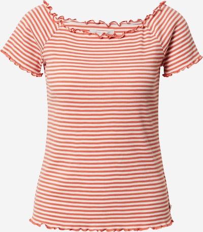TOM TAILOR DENIM Shirt in rot / weiß, Produktansicht