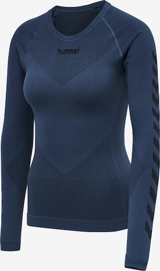 Hummel Jersey Woman L/S in blau, Produktansicht