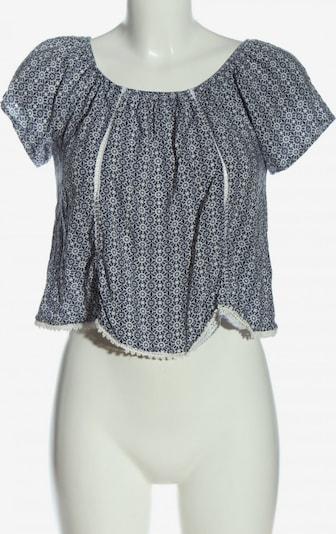 Subdued Carmen-Bluse in S in schwarz / weiß, Produktansicht