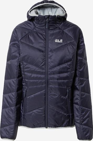 JACK WOLFSKIN Outdoor Jacket 'ARGON' in Graphite / White, Item view