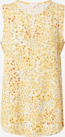 s.Oliver Blouse in Geel