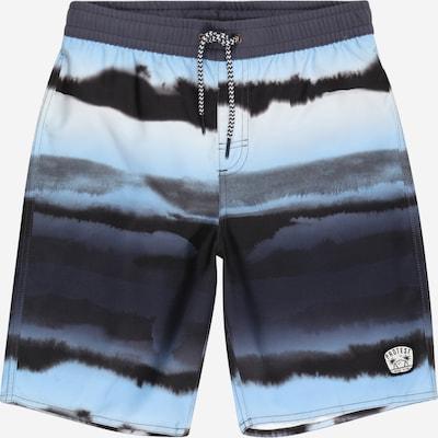 PROTEST Sportbadeshorts 'Mash' in hellblau / grau / schwarz, Produktansicht