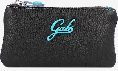 Gabs Sleutelhanger 'Ruga' in de kleur Turquoise / Zwart, Productweergave