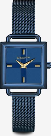Glanzstücke München Armbanduhr in blau, Produktansicht