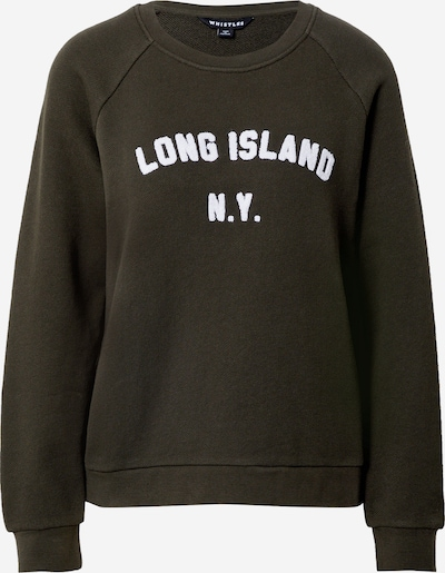 Whistles Sweat-shirt 'LONG ISLAND' en kaki / blanc, Vue avec produit