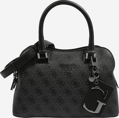 GUESS Handtasche 'MIKA' in anthrazit / dunkelgrau, Produktansicht