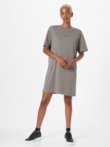 Nike Sportswear Jurk in Grijs