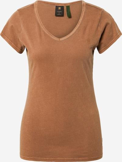 G-Star RAW T-Shirt 'Eyben' in de kleur Karamel, Productweergave