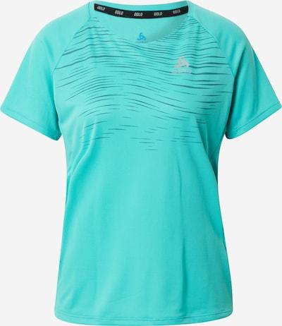 ODLO Sportshirt in dunkelblau / jade, Produktansicht