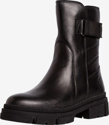 TAMARIS Ankle Boots in Black