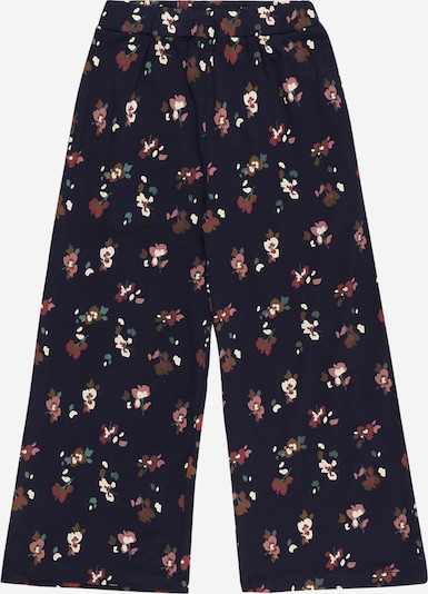 Pantaloni 'VIVIENNE' The New pe bleumarin / maro / verde mentă / alb, Vizualizare produs
