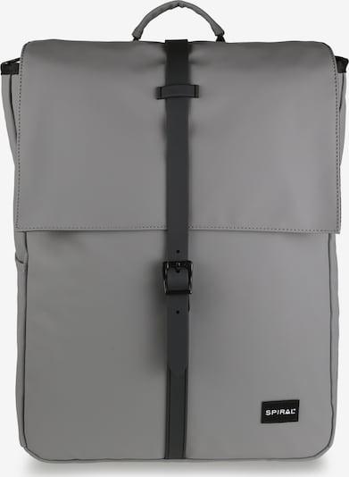 SPIRAL Backpack 'MANHATTAN' in Grey / Black, Item view
