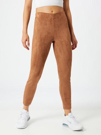 VILA Leggings 'Faddy' in braun, Modelansicht