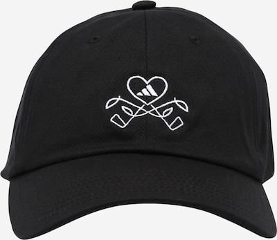 adidas Golf Athletic Cap in Black / White, Item view
