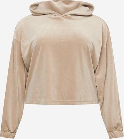 Urban Classics Curvy Sweatshirt in camel, Produktansicht