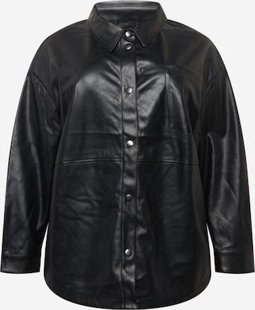 Urban Classics Curvy Bluse i svart
