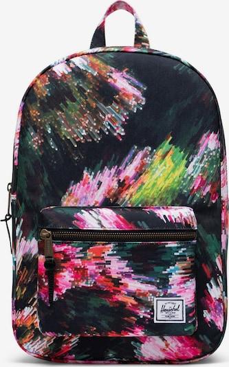 Herschel Sac à dos 'Settlement' en mélange de couleurs, Vue avec produit