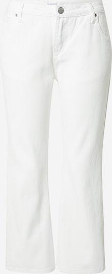 GLAMOROUS Jean en blanc, Vue avec produit