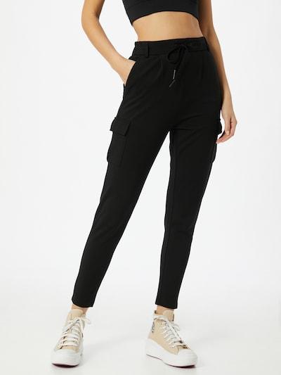 ONLY Hose 'Poptrash Easy' in schwarz, Modelansicht