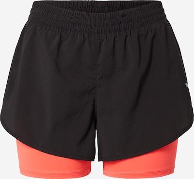 PUMA Sporthose in koralle / schwarz / weiß, Produktansicht
