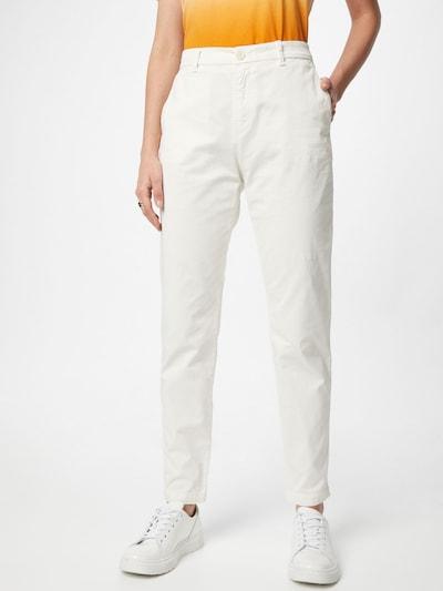 BOSS Casual Chino hlače 'C_Tachini-D' u bijela, Prikaz modela