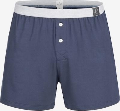 Erlich Textil Boxershorts 'Karl' in blau, Produktansicht