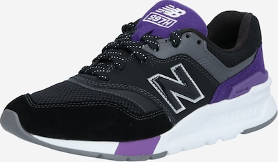 new balance Baskets basses en violet / noir / blanc, Vue avec produit